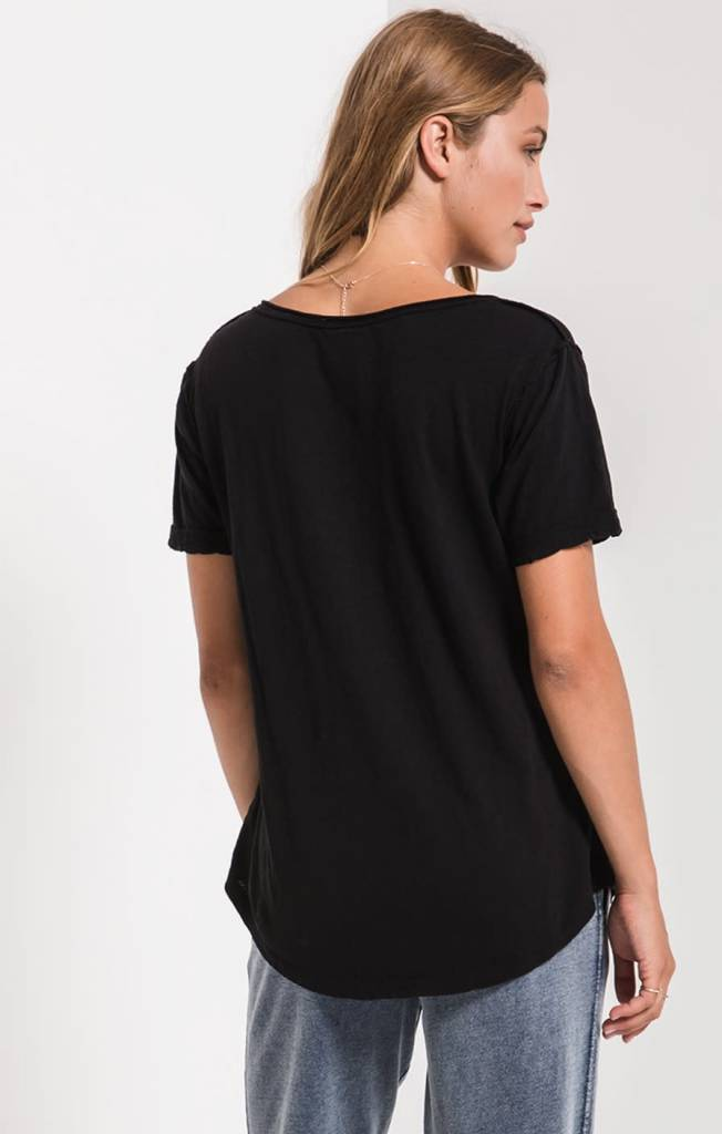 "Z Supply ""The Cotton Slub V-Neck"""