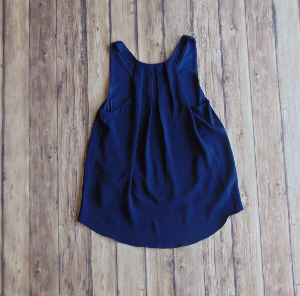Let's Meet Up Pleated Tank