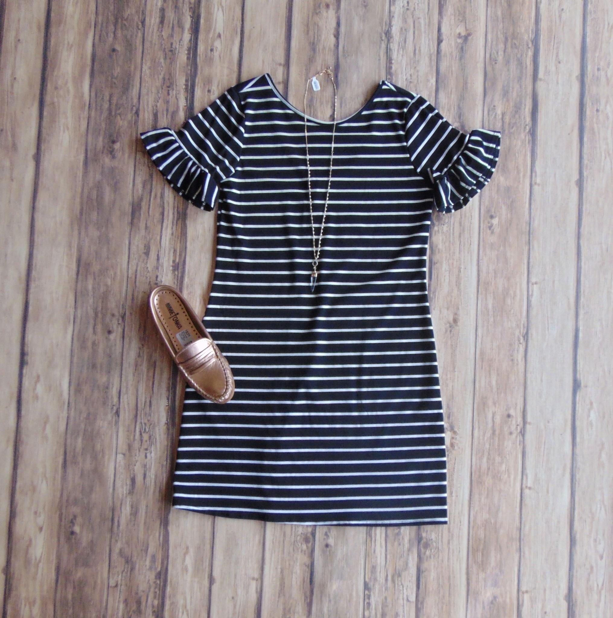 Spring Stripes Dress