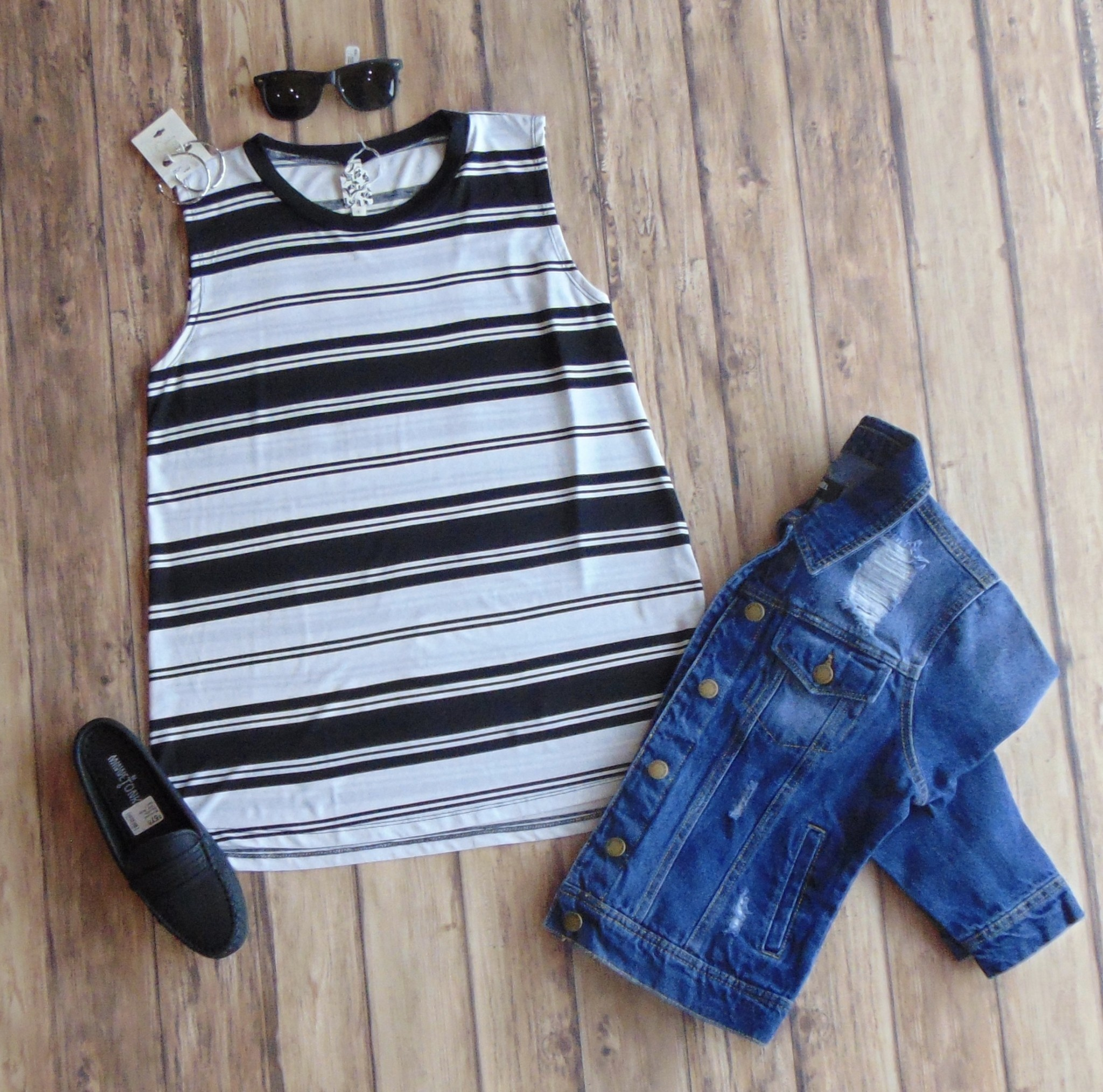 Now & Forever Striped Tank