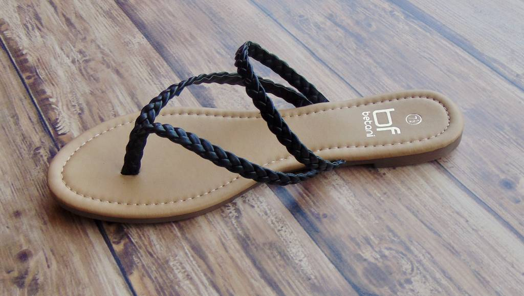 Double Braid Thong Sandal
