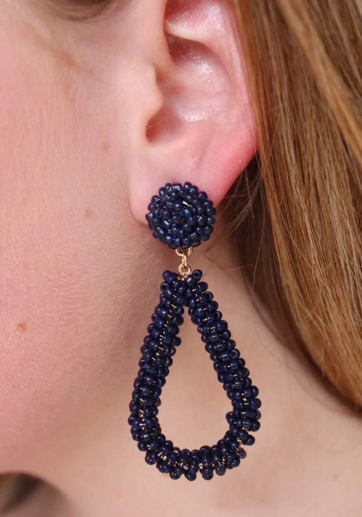 Bela Seed Bead Earrings