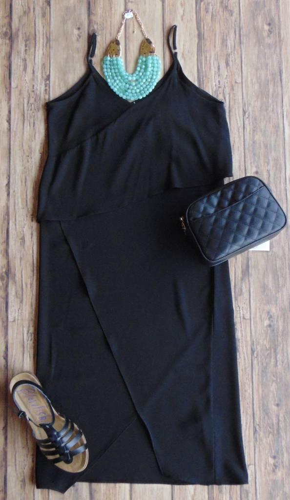 Anything But Basic Asymmetrical Dress