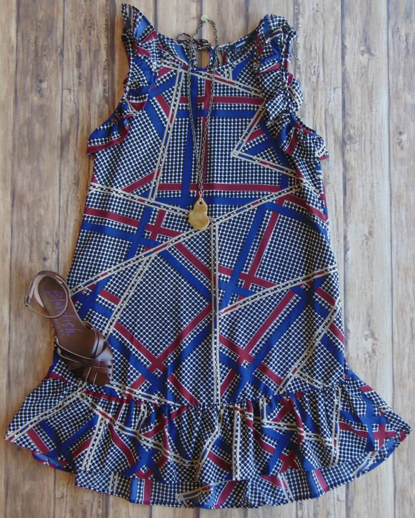 Time For You Ruffle Dress