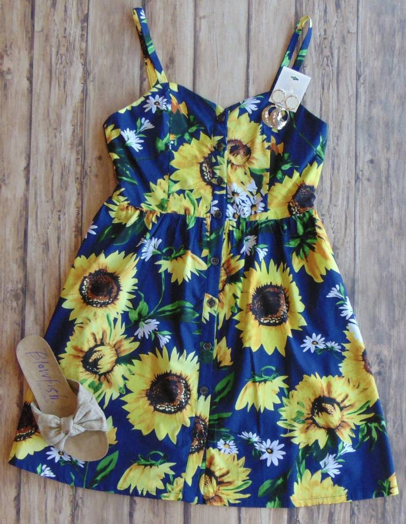 Don't Let The Sun Go Down Dress