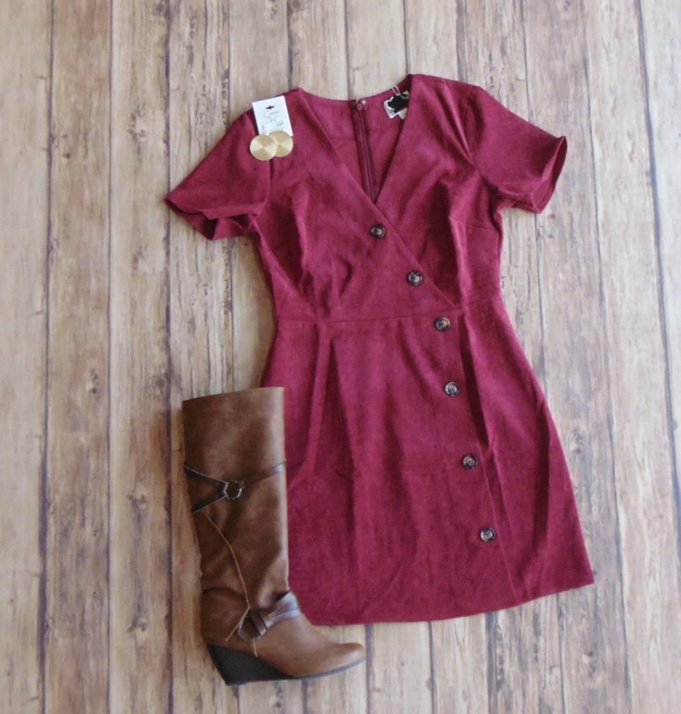 Cute In Cords Dress
