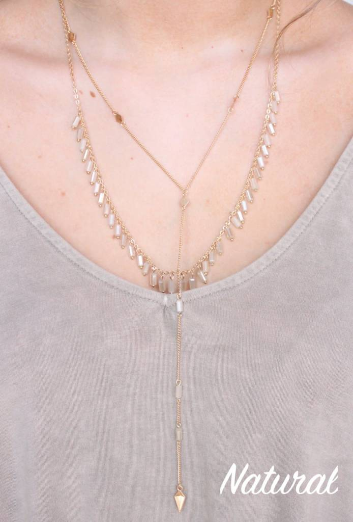 Eakin Double Layer Necklace