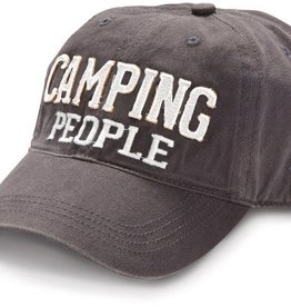 Camping People Dark Gray Hat