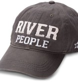 River People Dark Gray Hat