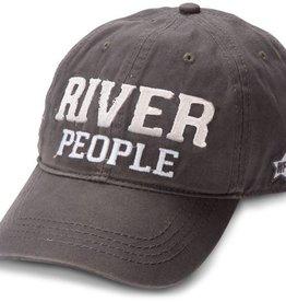 River People Dark Gray Hat