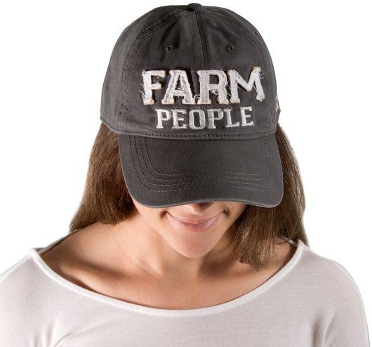 Farm People Dark Gray Hat