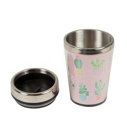 Pastel Cactus Travel Mug S&B