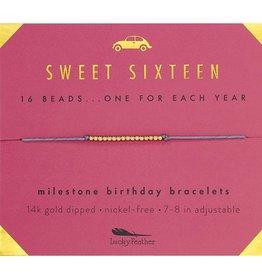 Birthday Bracelet- Sweet Sixteen