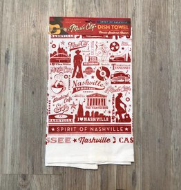 Spirit of Nashville Dish Towel