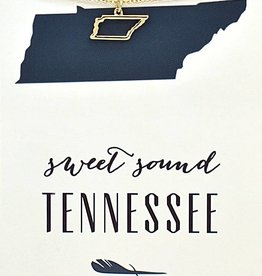 Sweet Sound Tennessee - Gold Necklace
