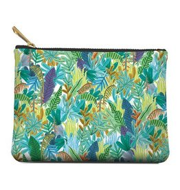 Zippered Pouch Medium Tropical