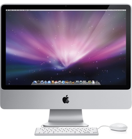 Apple iMac (24-inch Early 2008) - 500GB / 2.6 or 3.06Ghz Core 2 Duo / 4GB RAM / SuperDrive / macOS 10.11.6 / 30 Day Exchange