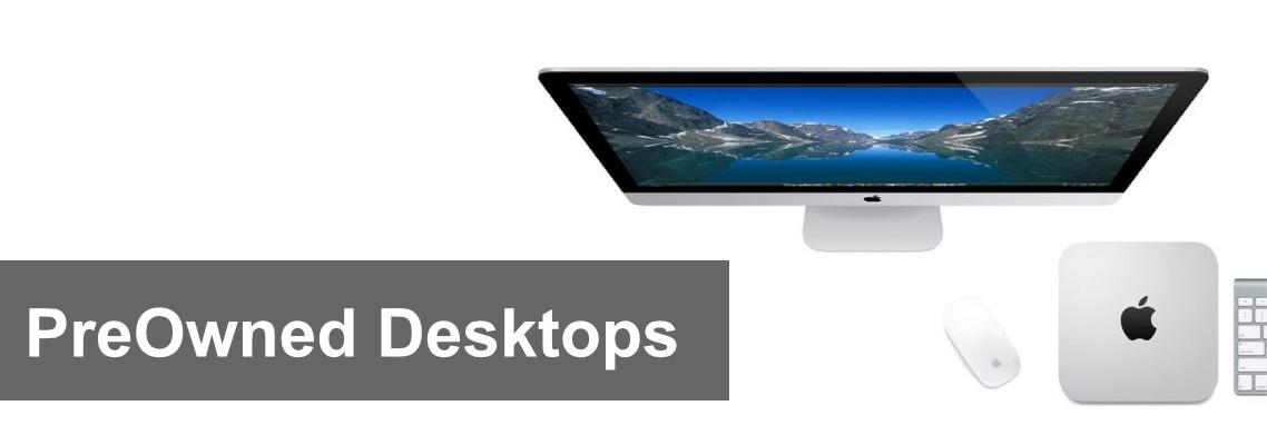 PreOwned Desktops