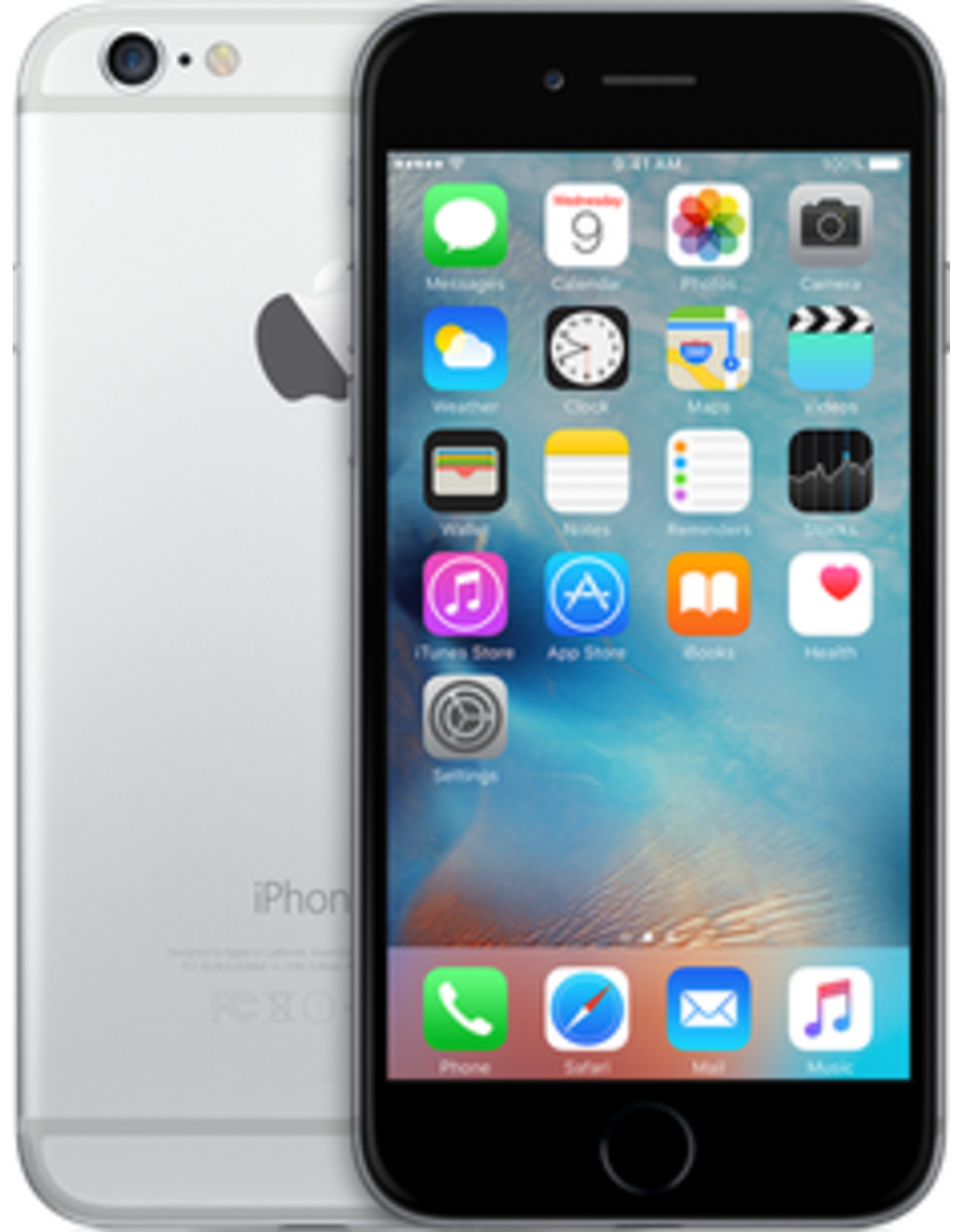 Apple iPhone 6 Plus (128GB, Silver) - 30 Day Exchange