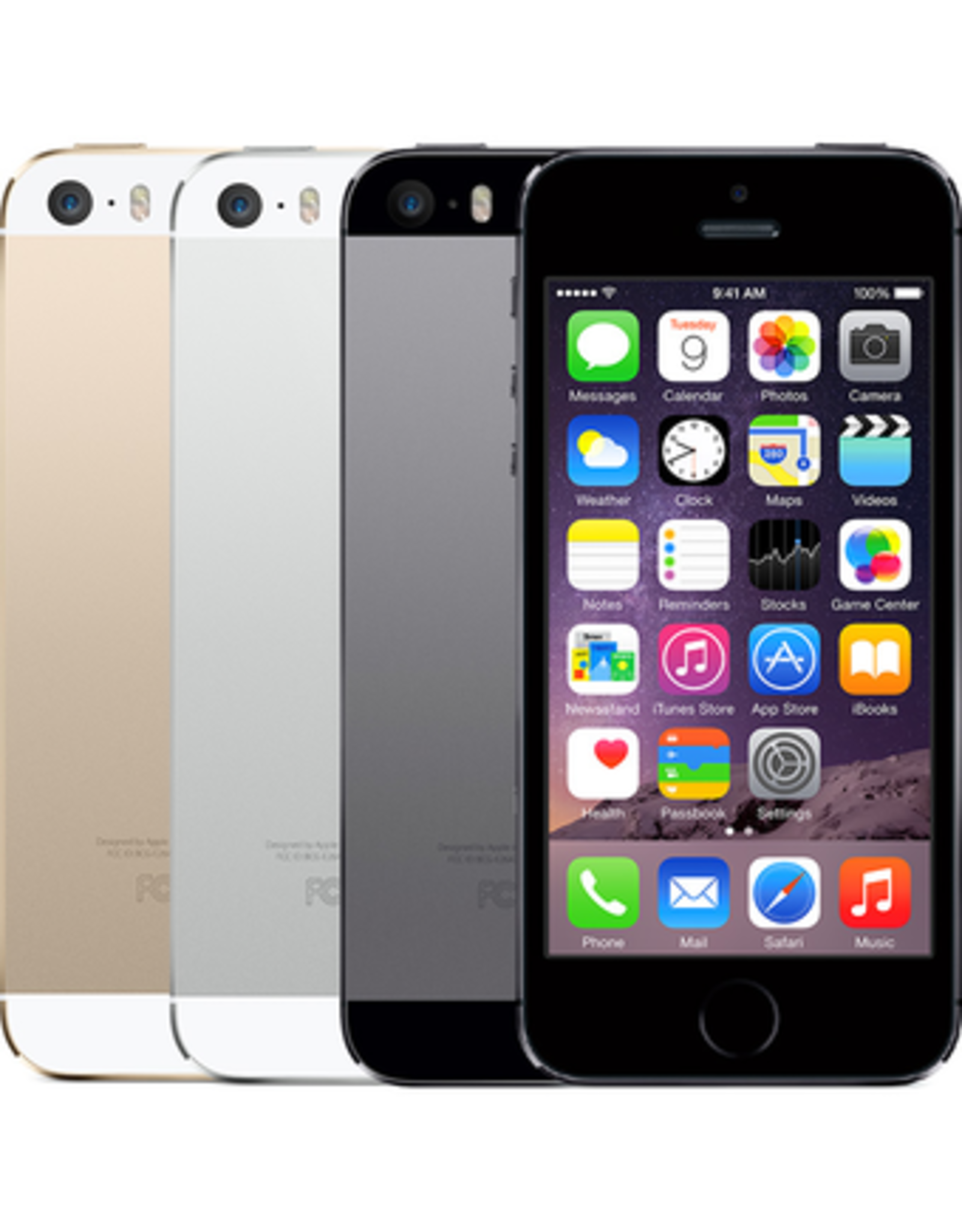 Apple iPhone 5s (16GB, Silver) - 30 Day Exchange