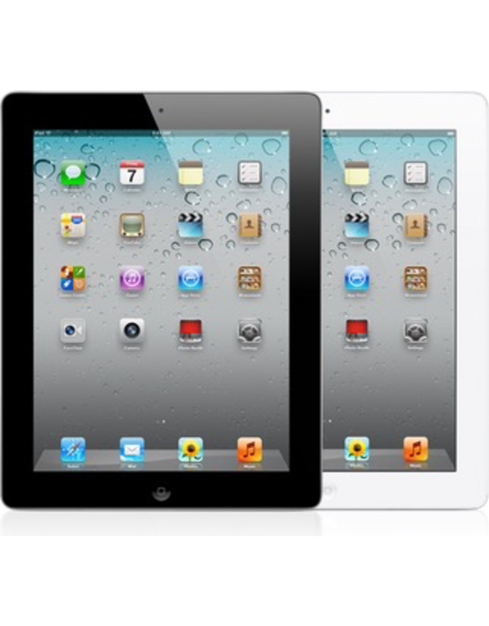 Apple iPad 2,WiFi, 16GB, White - 30 Day Exchange