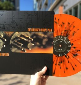 Dillinger Escape Plan - Calculating Infinity (Orange Krush with Splatter Vinyl, Limited to 1000)