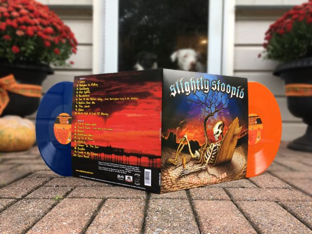 Slightly Stoopid - Closer To The Sun (Creep Records Exclusive Blue / Orange 2LP Limited to 500)