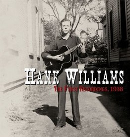 Hank Williams - The First Recordings, 1938 [7''] (Red Vinyl, first time on vinyl, first ever recordings made by Hank Williams, limited to 2500, indie-retail exclusive)