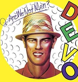 Devo - Q: Are We Not Men? A: We Are Devo! [LP] (Picture Disc, limited to 5000, indie-retail exclusive)
