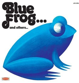 Orchestra Di Enrico Simonetti - Blue Frog... And Others [LP] (Transparent Blue Vinyl, feat. key members of Goblin, limited to 500, indie-retail exclusive)