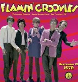 Flamin' Groovies - Live From The Vaillancourt Fountains: 9/19/79 [LP] (Fire Translucent Orange with Black Streaks Vinyl, limited to 1000, indie-retail exclusive)