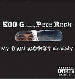 Edo G featuring Pete Rock - My Own Worst Enemy (Deluxe Edition) [2LP] (includes instrumentals album, limited, indie-retail exclusive)