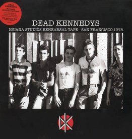 Dead Kennedys - Iguana Studios Rehearsal Sessions [LP] (their first recordings from 1978, limited to 2000, indie-retail exclusive)