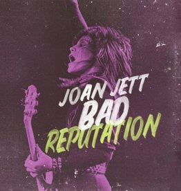Joan Jett/Various Artists - Bad Reputation (Soundtrack) [LP] (Transluscent Yellow Vinyl, numbered/limited to 3000, indie-retail exclusive)