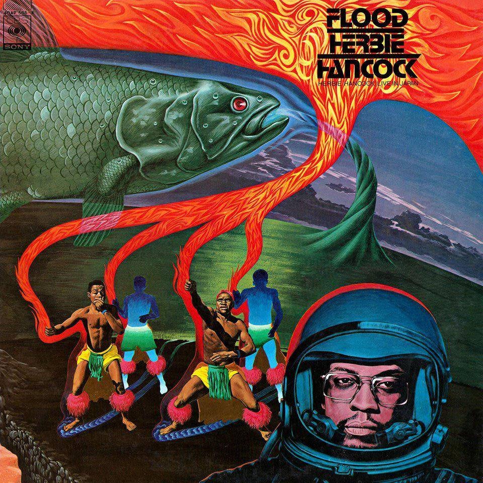 Herbie Hancock - Flood [2LP] (first US release, limited to 1250, indie-retail exclusive)