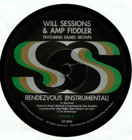 Will Sessions & Amp Fiddler - Reminiscin' b/w Instrumental [10'']
