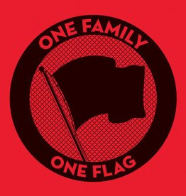 Various Artists - One Family. One Flag. [3LP] (Pirates Press compilation, screen-printed 6th side, giant 18''x24'' poster, limited, indie-exclusive)