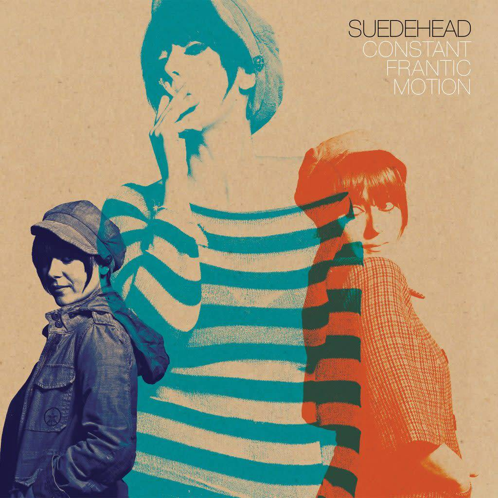 Suedehead - Constant Frantic Motion [LP+7''] (Orange/Pale Blue/Electric Blue Tri-Color Vinyl, first time on vinyl, download, gatefold, limited to 400, indie-exclusive)