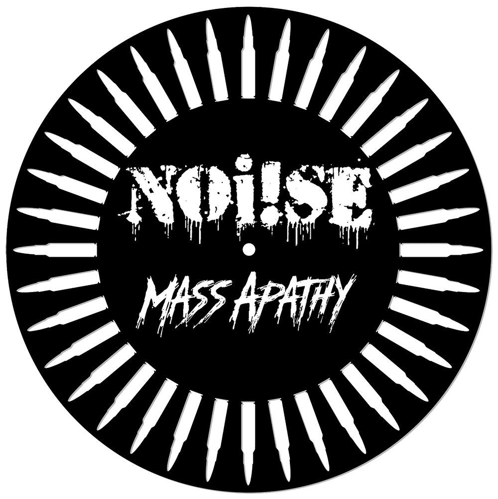 NOi!SE - Mass Apathy (Charity Record) [12''] (DIE-CUT/MILLED RING OF BULLETS, screen-printed B-Side, limited, indie-exclusive)