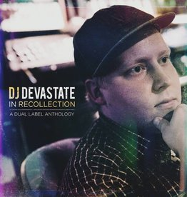 DJ Devastate - In Recollection: A Dual Label Anthology (2012-2018) [LP] (Purple + Mustard Swirl Vinyl)