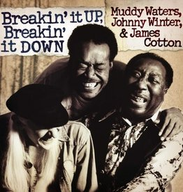 Muddy Waters, Johnny Winter, James Cotton - Breakin' It Up, Breakin' It Down [2LP] (180 Gram Audiophile Translucent Gold Vinyl, gatefold, first time on vinyl, poster, ltd to 1000, indie-exclusive)
