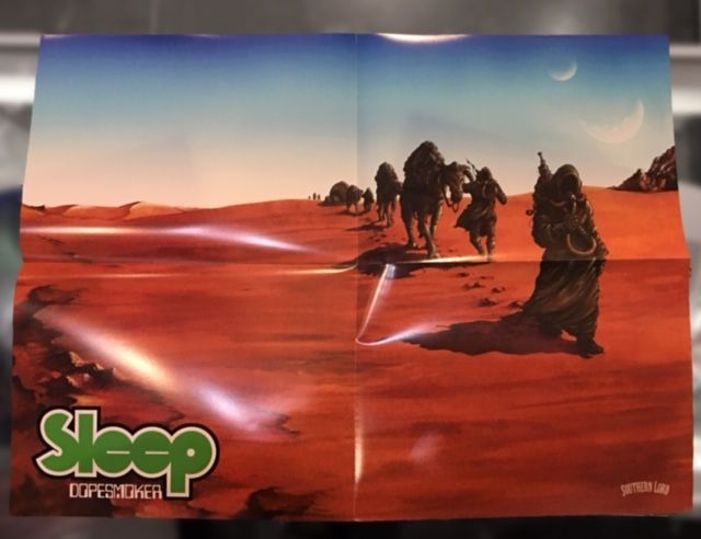 Sleep - Dopesmoker (Indie Exclusive Limited to 1500 Hazy Translucent Green Vinyl w/ Holographic Cover + 18x24 poster)