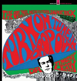 """Timothy Leary - Turn On, Tune In, Drop Out-The Original Motion Picture Soundtrack (Limited Red, Blue & Green """"Kaleidoscope"""" Vinyl Edition)"""
