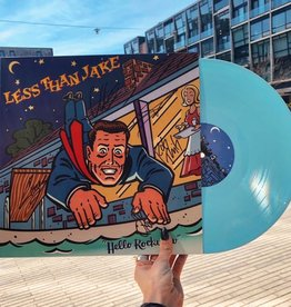 Less Than Jake - Hello Rockview (Pale Blue Vinyl, SIGNED)