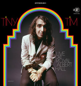 Tiny Tim - Live At Royal Albert Hall [2LP] (180 Gram, Translucent Red Vinyl, gatefold, insert, first time on vinyl, limited to 3000, indie exclusive)