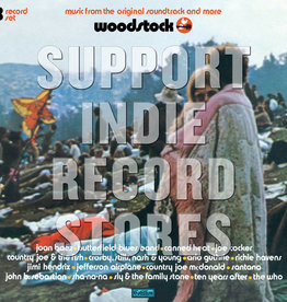 Various Artists - Woodstock 3 Days Of Peace Music (Mono PA Version) [3LP] (actual Woodstock versions of several songs that have never been issued before, limited to 3750, indie exclusive)