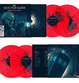 Doctor Who - Destiny Of The Daleks (Soundtrack) [2LP] (180 Gram, Red with Blue Splatter Vinyl, gatefold, limited to 2500, indie advance exclusive)