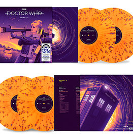 Doctor Who - Galaxy 4 (Soundtrack) [2LP] (180 Gram, Orange with Purple Splatter Vinyl, gatefold, limited to 2500, indie advance exclusive)