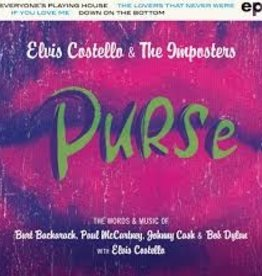Elvis Costello & The Imposters - Purse EP [LP] (4 songs co-written by Elvis Costello with Paul McCartney, Burt Bacharach, Johnny Cash and Bob Dylan, limited to 3000, indie exclusive)