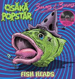 Osaka Popstar/Barnes & Barnes - Fish Heads [12''] (Neon Pink Vinyl, Dr. Demento classic cover plus original version, limited to 1500, indie exclusive)